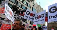Demonstracja solidarności ze Strefą Gazy – Londyn 9 sierpnia