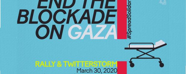 Dzień Ziemi 2020 – Apel o zniesienie blokady Strefy Gazy!