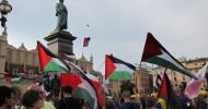 Nie będziemy milczeć! Stop izraelskiej agresji na Strefę Gazy! – Kraków 17 lipca