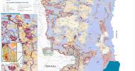 Restrykcje w przemieszczaniu na Zachodnim Brzegu – Mapa OCHA – Wrzesień 2014